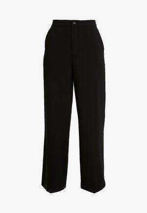 TROUSERS FREIDA - Pantalones - black