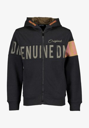 DENIM GOODS - Zip-up sweatshirt - schwarz