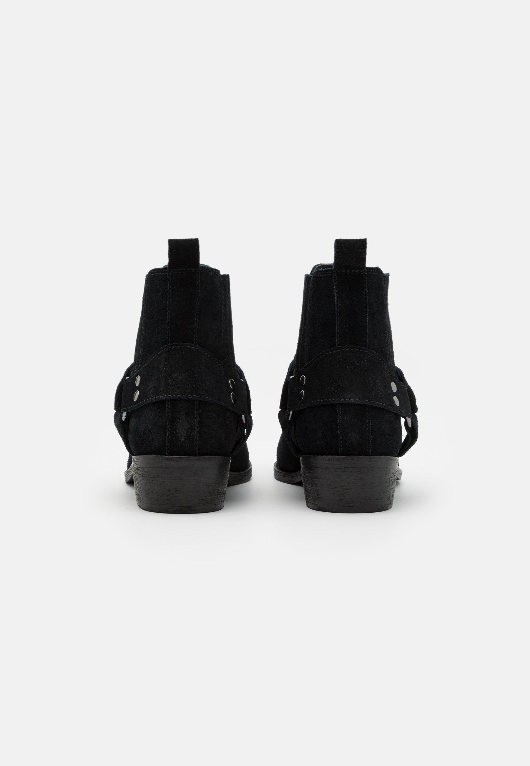 Men LEATHER UNISEX - Cowboy/biker ankle boot