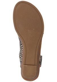 Blowfish Malibu - Ankle cuff sandals - zebra safari blanket blackdyecut - 4