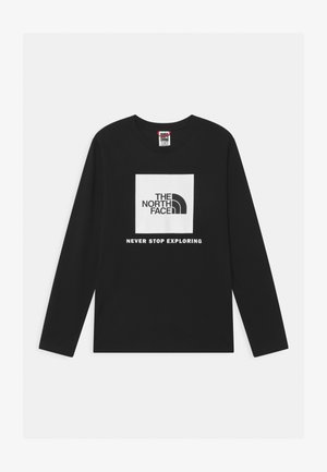 BOX LOGO UNISEX - T-shirt à manches longues - black