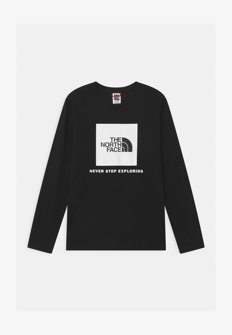 The North Face - BOX LOGO UNISEX - Long sleeved top - black