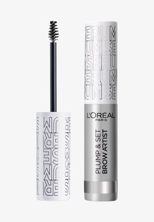 BROW ARTIST PLUMP & SET - Eyebrow gel - transparent