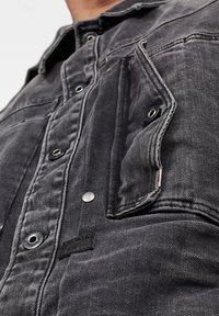 G-Star - SCUTAR SLIM - Denim jacket - antic charcoal - 3