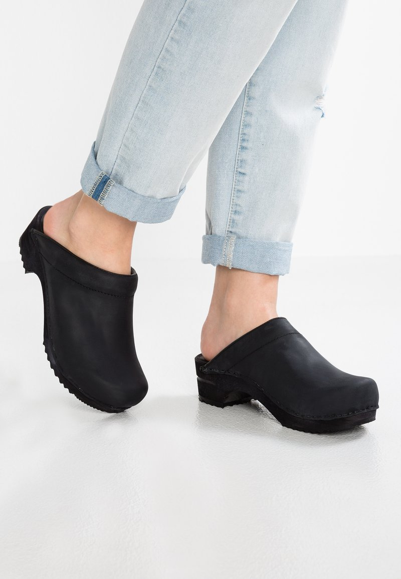 Sanita - CHRISSY OPEN - Clogs - black
