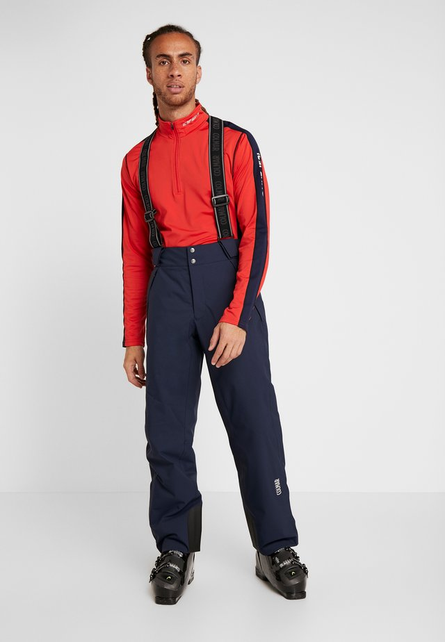 MENS INSULATED PANTS - Snow pants - blue/black