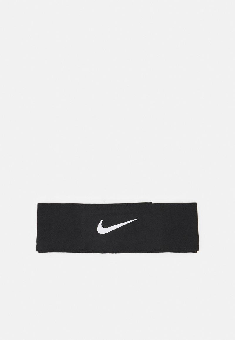 Nike Performance - DRI FIT HEAD TIE  - Ørevarmere - black/white