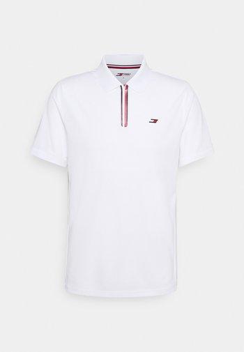 STRIPE TRAINING - Poloshirt - white