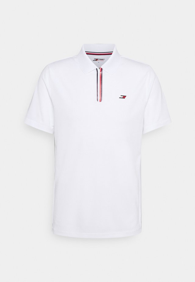STRIPE TRAINING - Polo - white