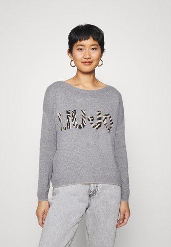 MAGLIA CHIUSA - Jumper - mottled grey