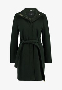 Dorothy Perkins - LONG FUNNEL BELTED WRAP - Zimní kabát - khaki - 3