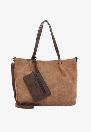 BAG IN BAG SURPRISE - Tote bag - cognac/brown
