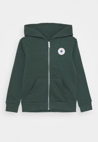 Converse - CHUCK PATCH FULL ZIP HOODIE  - Zip-up hoodie - faded spruce - 0