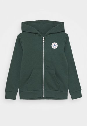 CHUCK PATCH FULL ZIP HOODIE  - Zip-up hoodie - faded spruce