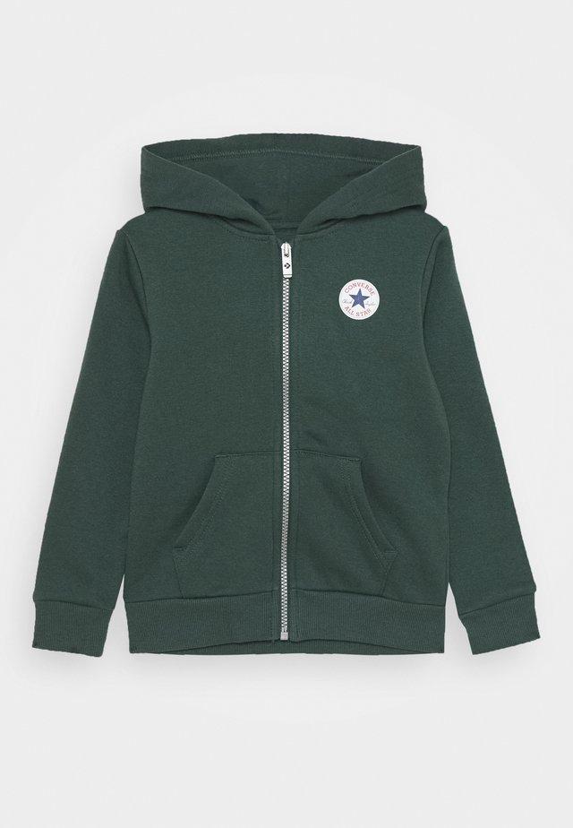 CHUCK PATCH FULL ZIP HOODIE  - Zip-up hoodie - faded spruce