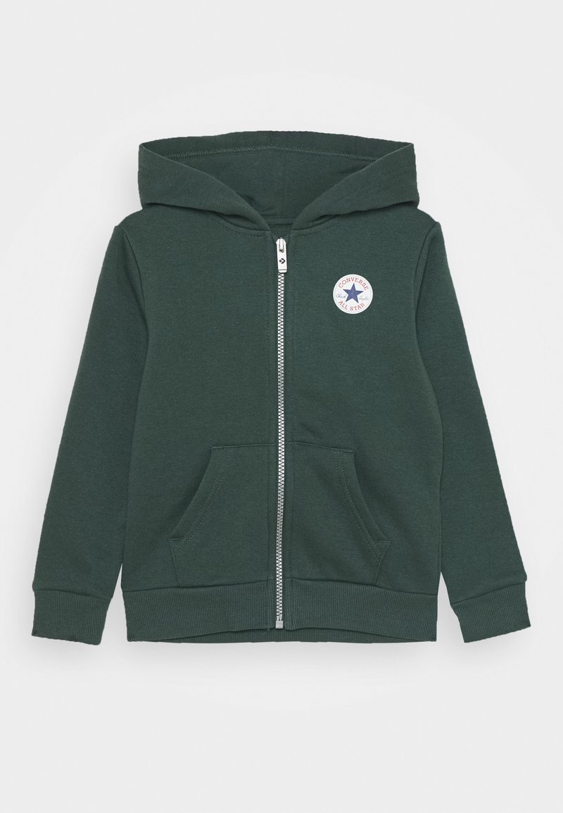 Converse - CHUCK PATCH FULL ZIP HOODIE  - Zip-up hoodie - faded spruce