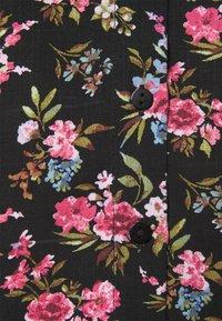 Vila - VICARE - Button-down blouse - black - 5