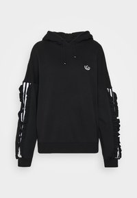 adidas Originals - BELLISTA SPORTS INSPIRED HOODED  - Hoodie - black - 4