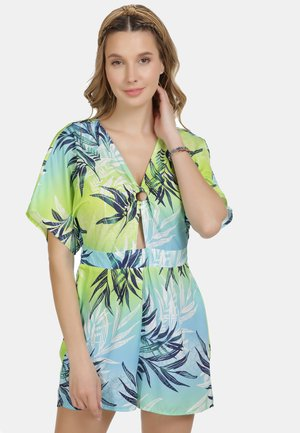 Kombinezon - tropical print