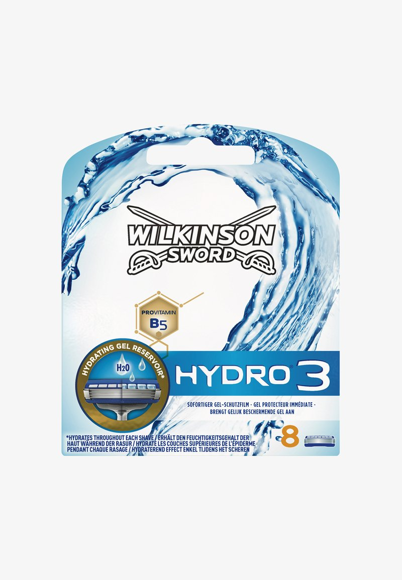 Wilkinson Sword - HYDRO 3 BLADES 8PCS - Hair removal Accessory - -