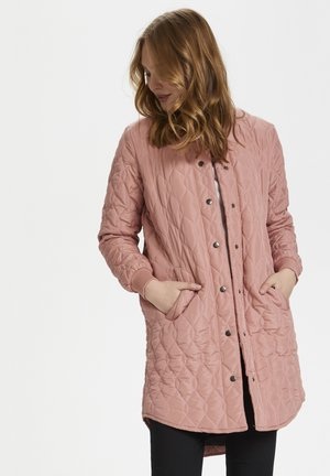 SHALLY QUILTED - Classic coat - old rose