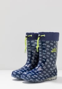 LICO - POWER BLINKY - Wellies - marine/weiss/lemon - 2