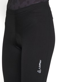 LÖFFLER - BIKE BASIC - 3/4 sports trousers - black - 4