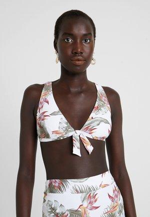 LOLOMO DEEP - Bikinitopp - white