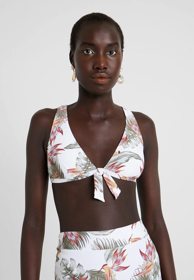 LOLOMO DEEP - Bikini top - white