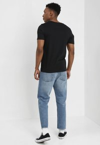 Jack & Jones - JJECORP LOGO CREW NECK  - T-shirt print - black - 2