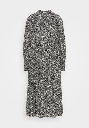 ROBINIA DRESS - Maxikjole - black/white