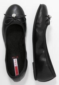 s.Oliver - Ballet pumps - black - 3