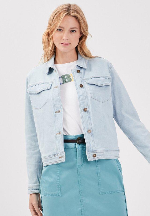 Giacca di jeans - denim bleach