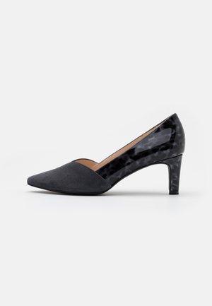 MARISA - Classic heels - iron/topaso