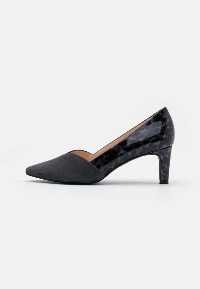 MARISA - Klassiske pumps - iron/topaso