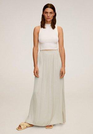 Maxi skirt - gris clair/pastel