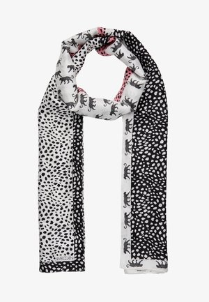 Scarf - black/white