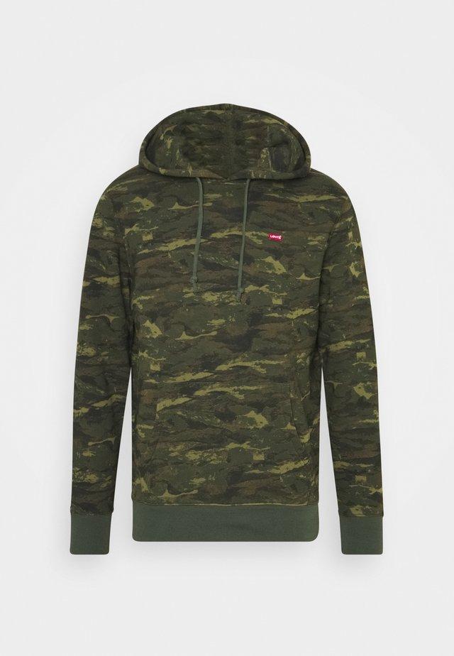 CORE HOODIE - Sweatshirt - greens