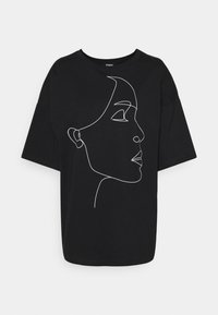 Zign - Print T-shirt - black - 0