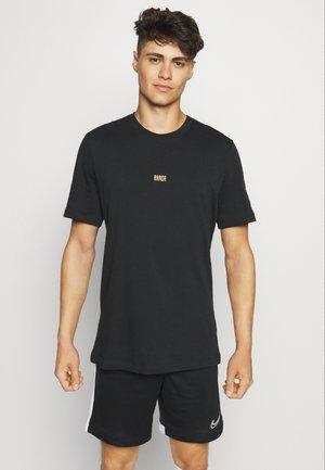 FCB TEE TRAVEL - Club wear - black