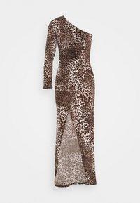 TFNC - JADA - Společenské šaty - dark brown - 3