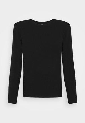 ONLTANJA LIFE O NECK - Maglietta a manica lunga - black