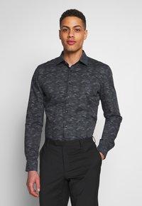 OLYMP - OLYMP NO.6 SUPER SLIM FIT  - Formal shirt - schwarz - 2
