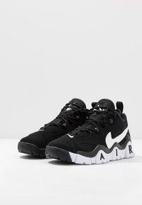 Nike Sportswear - AIR BARRAGE - High-top trainers - white/hyper blue - 3