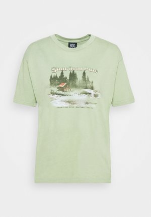 SHORTLEAF PINE TEE - T-shirt imprimé - green