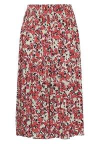 Soaked in Luxury - SLINDIANA  - Pleated skirt - multifloral cardinal - 6