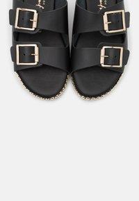 New Look - IDRIS - Pantofle - black - 5