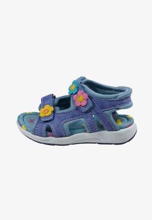 MIT KLETTVERSCHLUSS - Walking sandals - ink blue