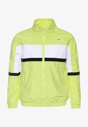 TOBIN - Trainingsjacke - sharp green/black/bright white