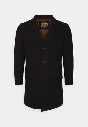 CADE TEXTURED COAT - Short coat - black